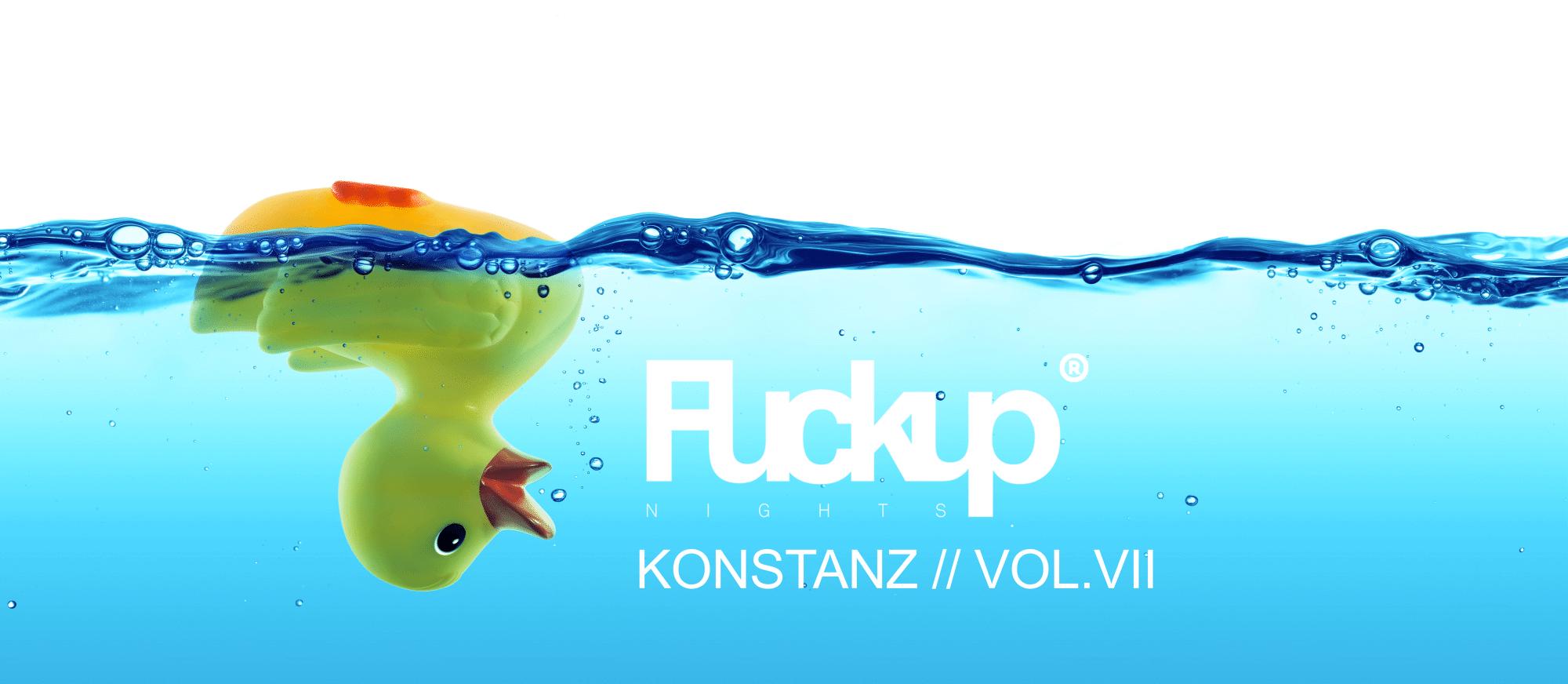 Veranstaltung Fuckup night Konstanz