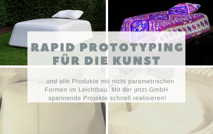 Rapid Prototyping für die Kunst